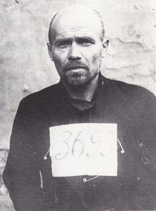 Игорь Терентьев. Тюремная фотография. Май-июнь 1937