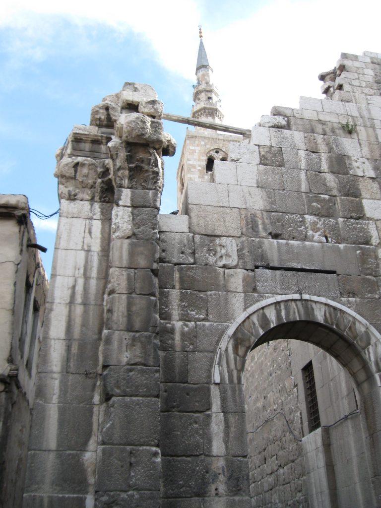 Damask, Putovanje na Istok