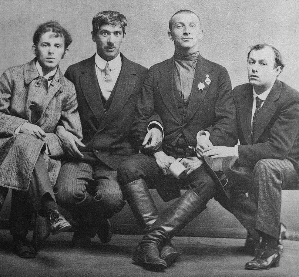 Osip Mandelstam, Korney Chukovsky, Yury Annenkov, 1914;